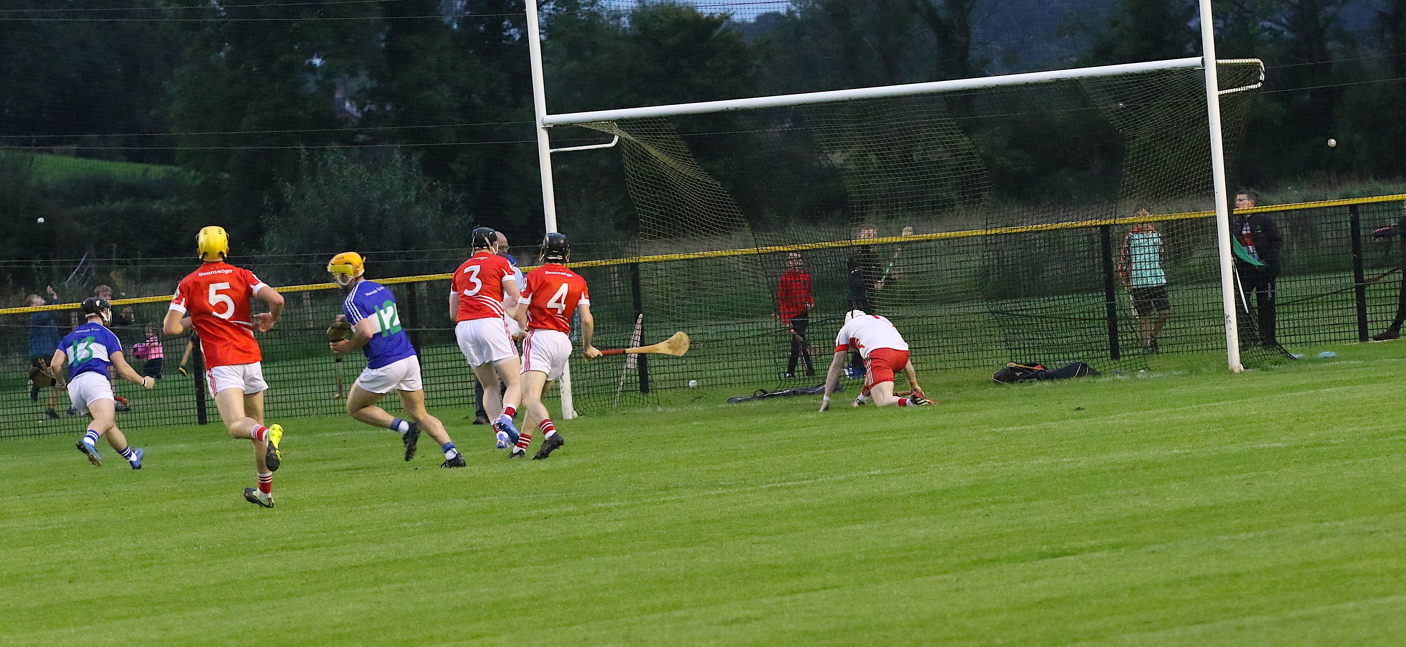 Conor Johnston fore home the opening goal in Sunday\'s quarter-final in Portglenone