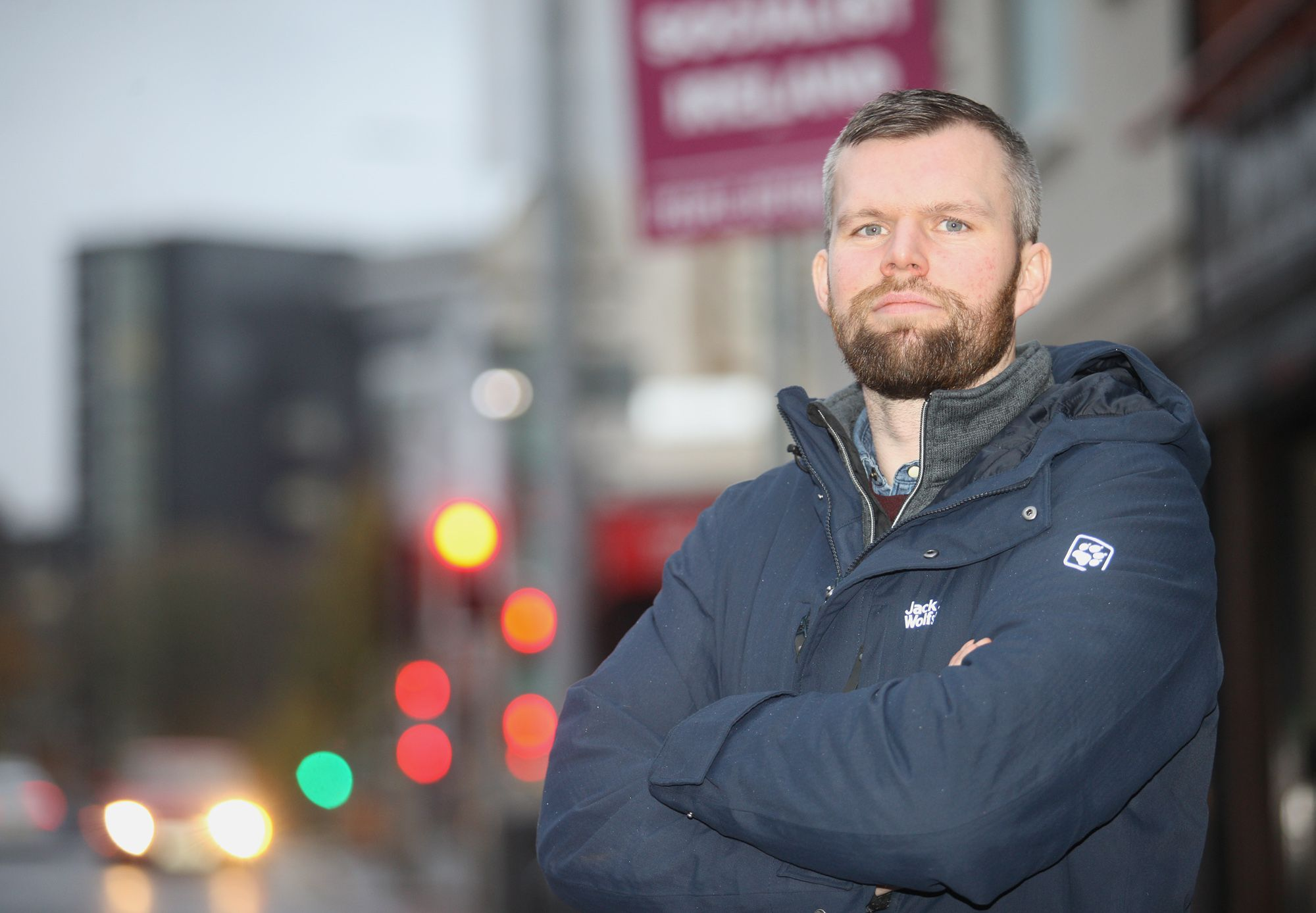 ON YOUR BIKE: Gerry Carroll MLA will host a virtual meeting on Car-Free Day to discuss the lack of cycling infrastructure in West Belfast