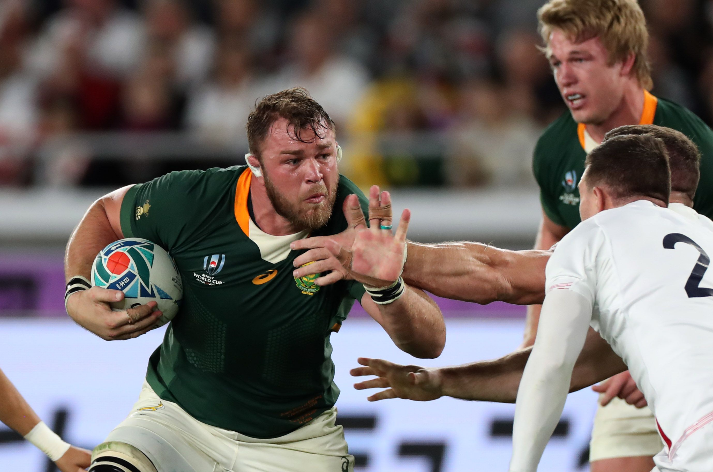 Duane Vermeulen for South Africa during the 2019 World Cup final