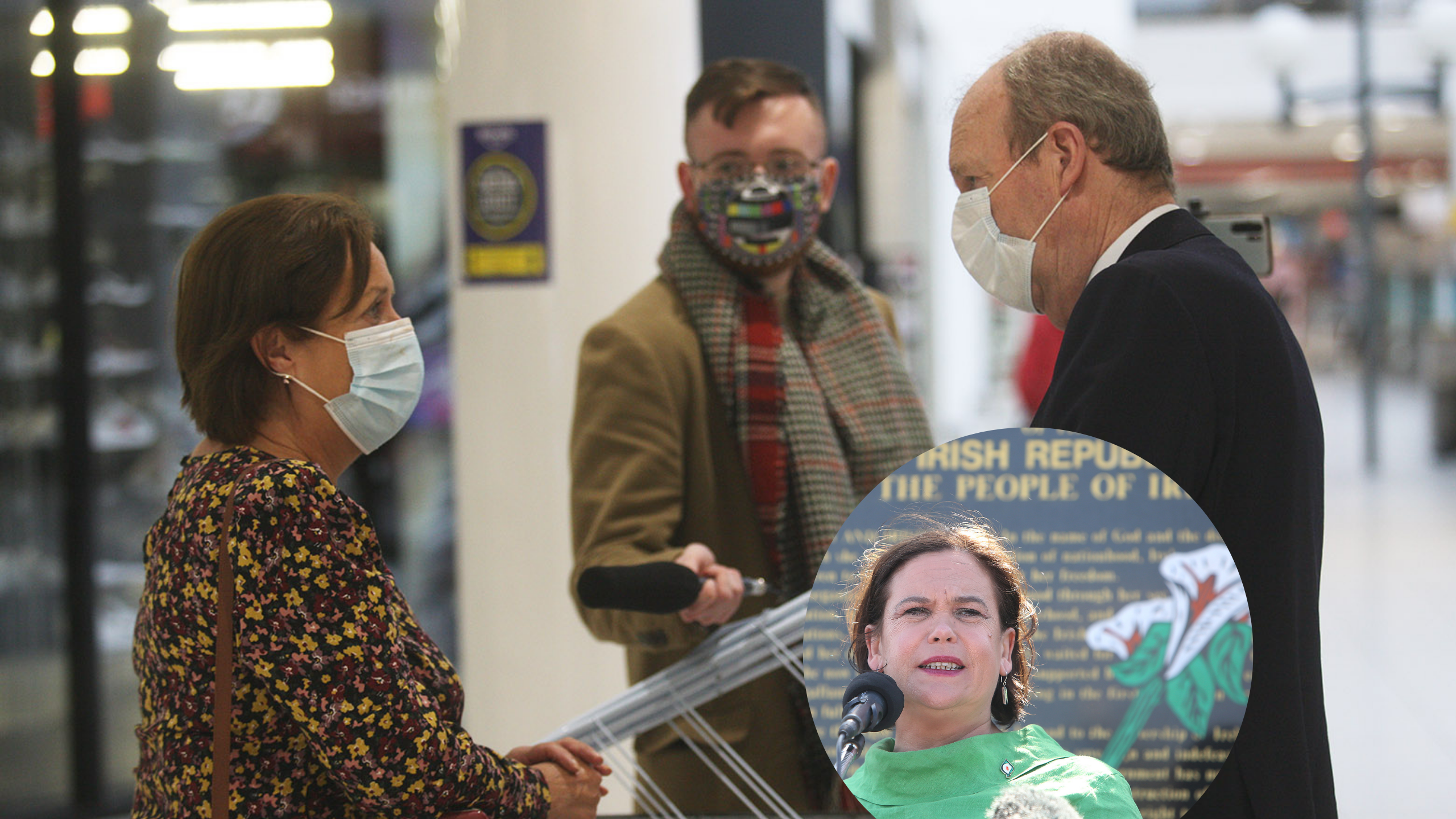 YOUR SAY: We visited the Kennedy Centre to hear your opinions on Mary Lou McDonald