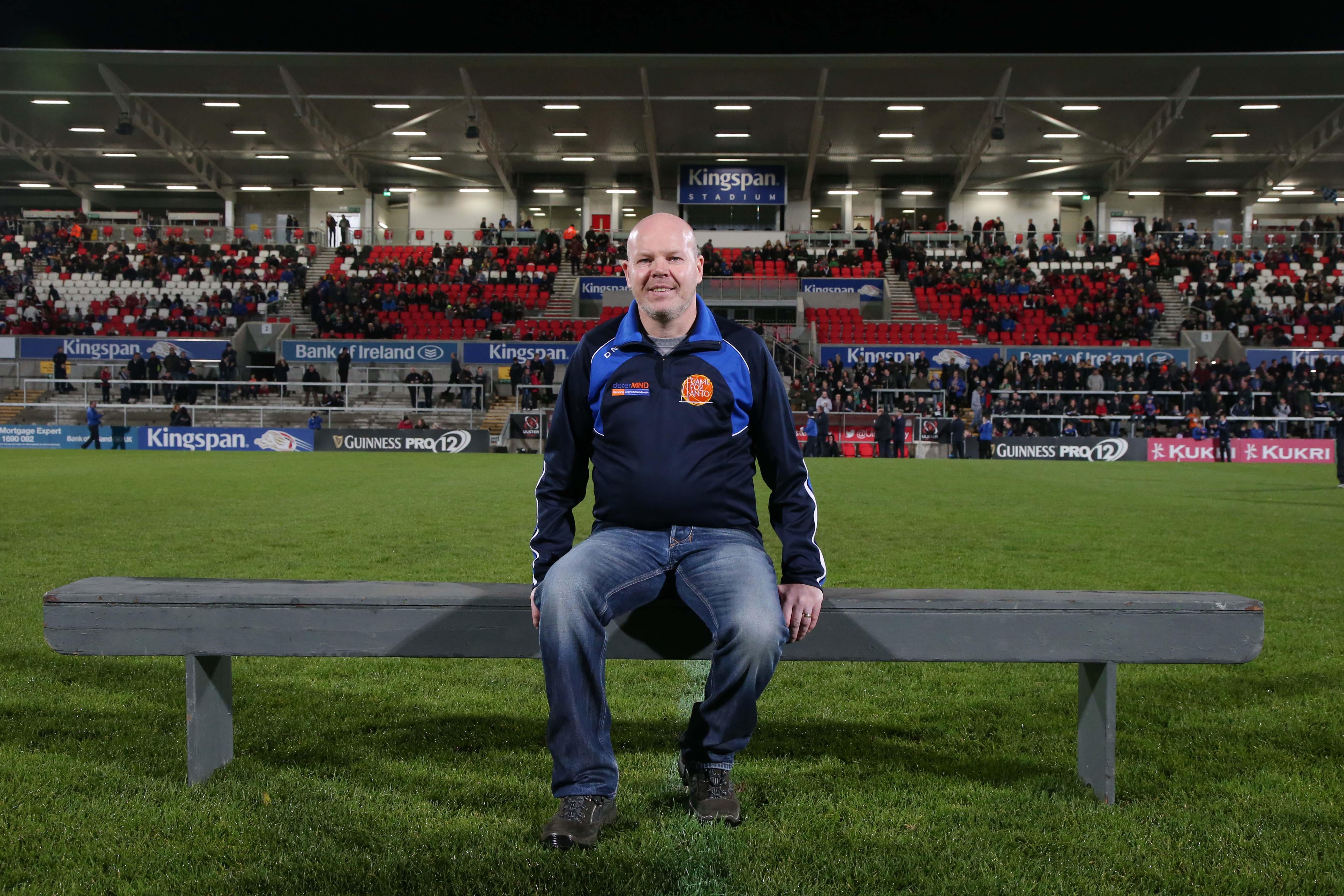 HERO: Former Antrim captain Anto Finnegan passed away on Saturday