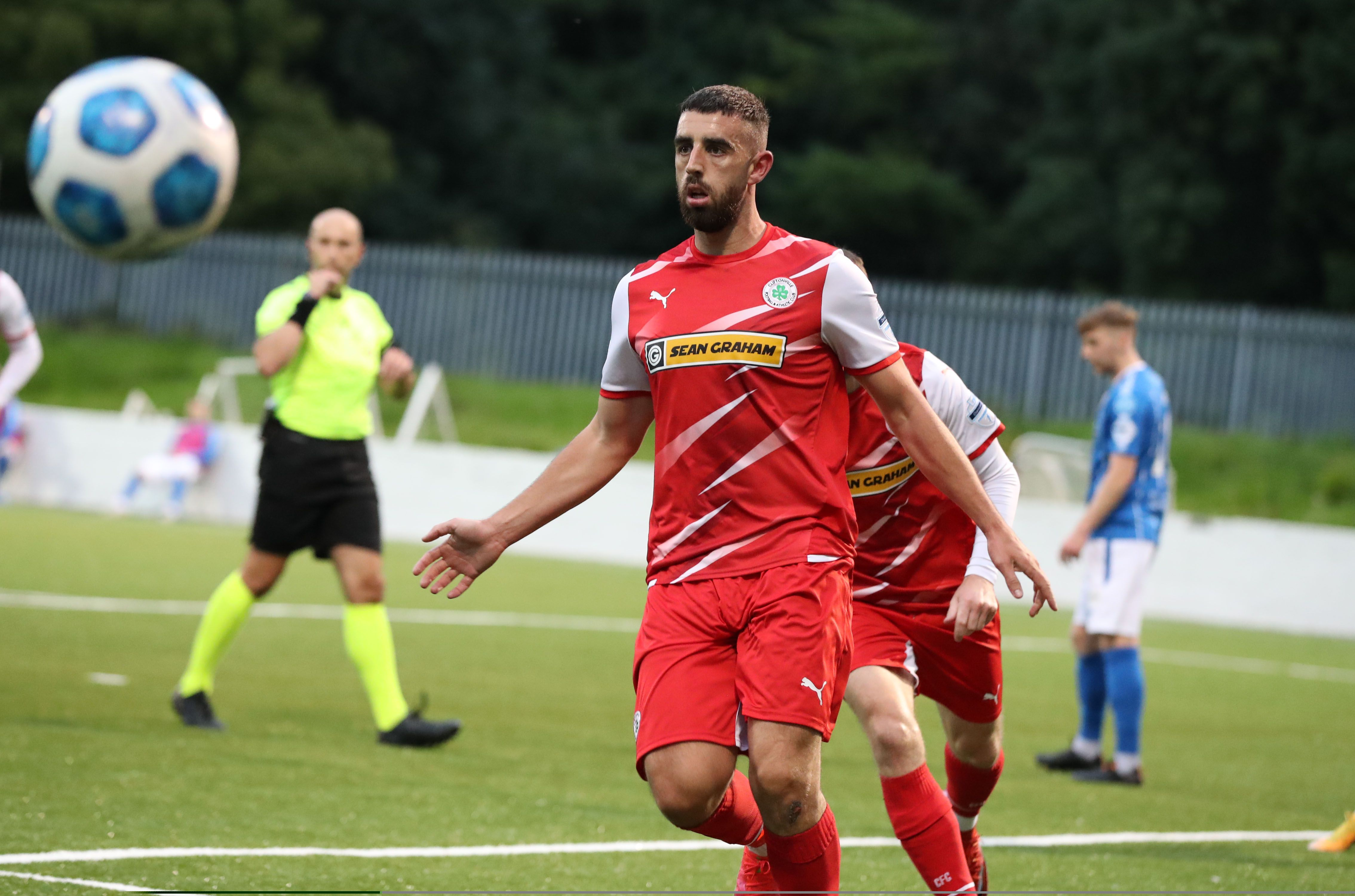 Paddy McLaughlin paid tribute to record goalscorer Joe Gormley who made his 350th appearance for the club on Saturday