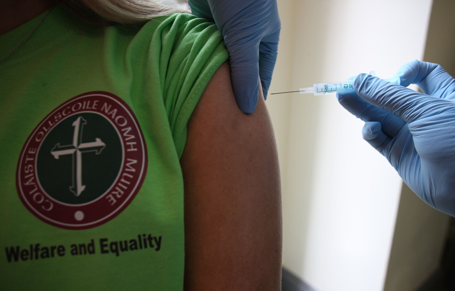 PROTECTION: The latest push to get people jabbed comes as 72 per cent of those in ICU are totally unvaccinated