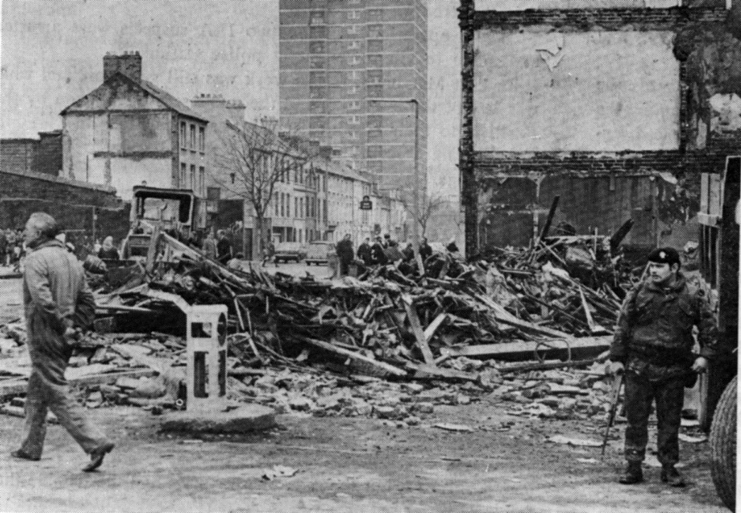 ATROCITY: 15 people were killed, included two children, in the bombing of McGurk\'s in 1971