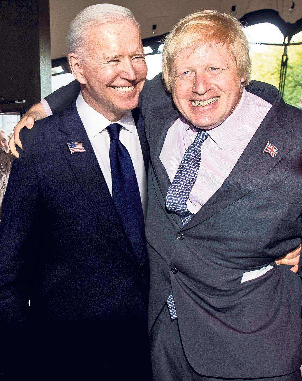 BUDDIES? Boris Johnson heads to the White House