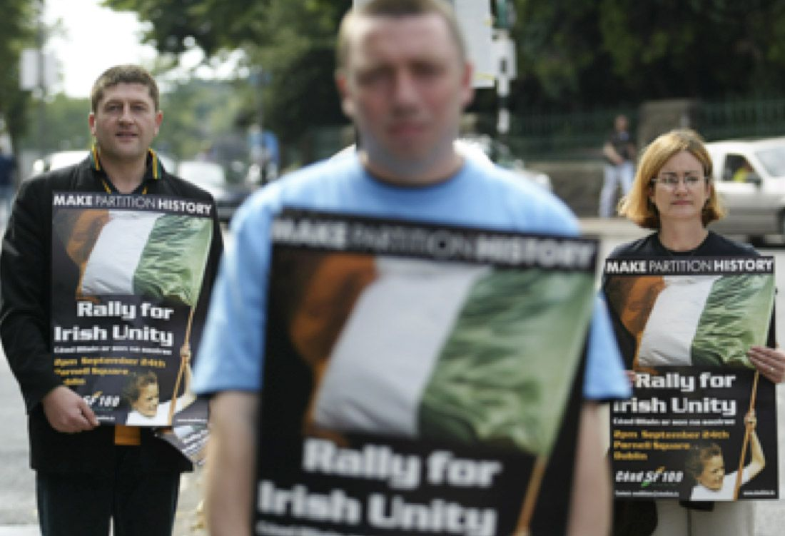 GROWING DEBATE: As conversations on a new Ireland grow ever louder, the questions we ask about voting intentions are key
