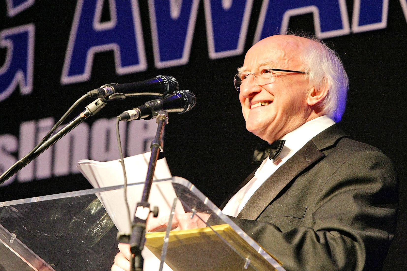 FURIOUS FURORE: Unionists were angered when President Higgins turned down that invitation