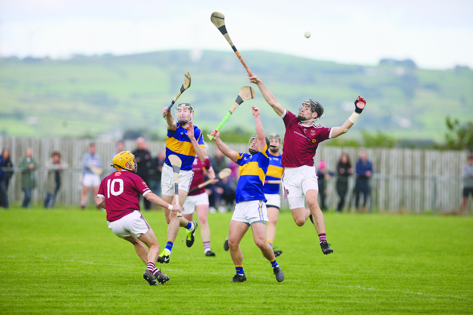 Rossa claimed a one-point win over Cushendall in last year's quarter-final and another close affair is expected this Sunday's semi-final