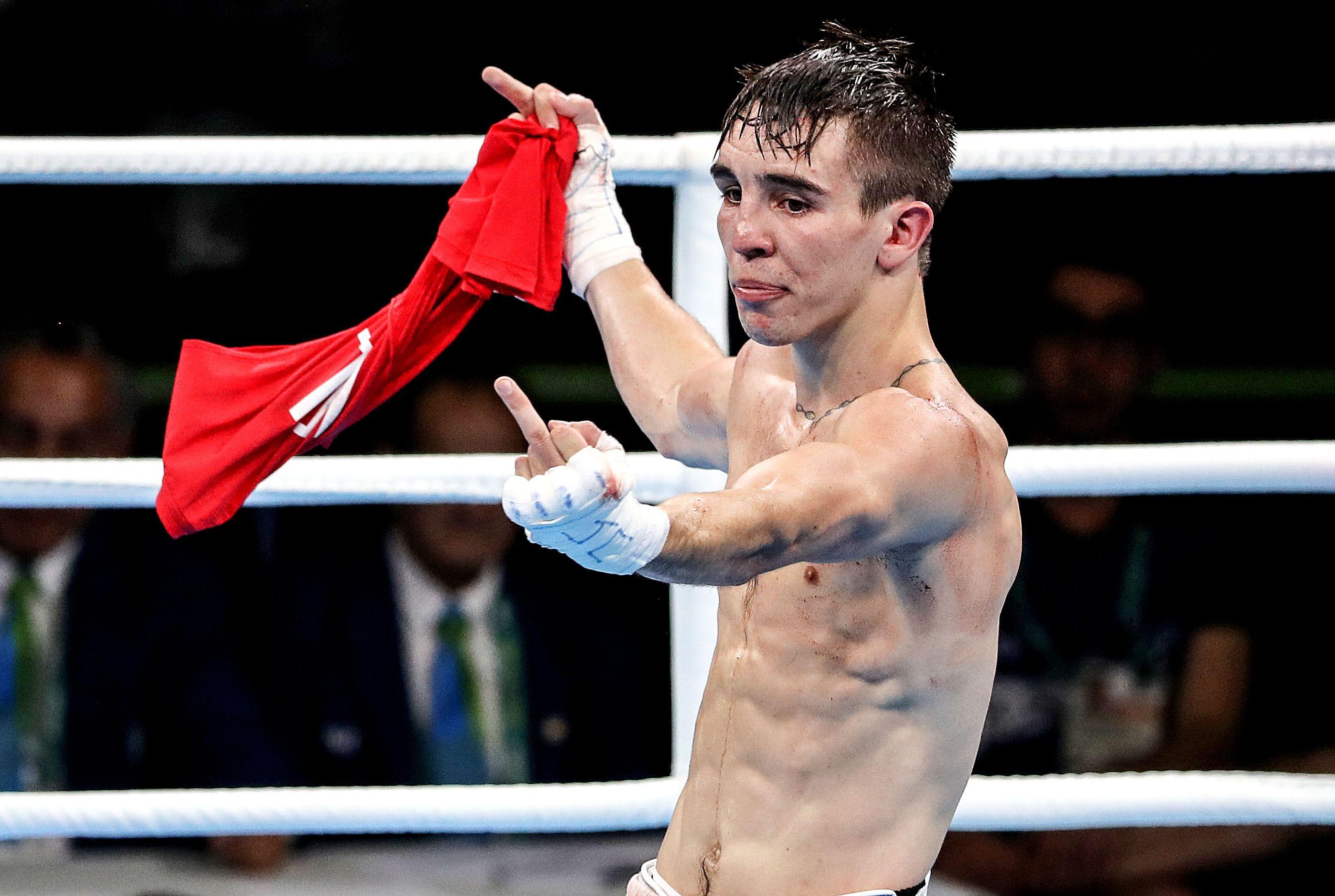 Michael Conlan\'s reaction to his \'defeat\' against Vladimir Nikitin in 2016