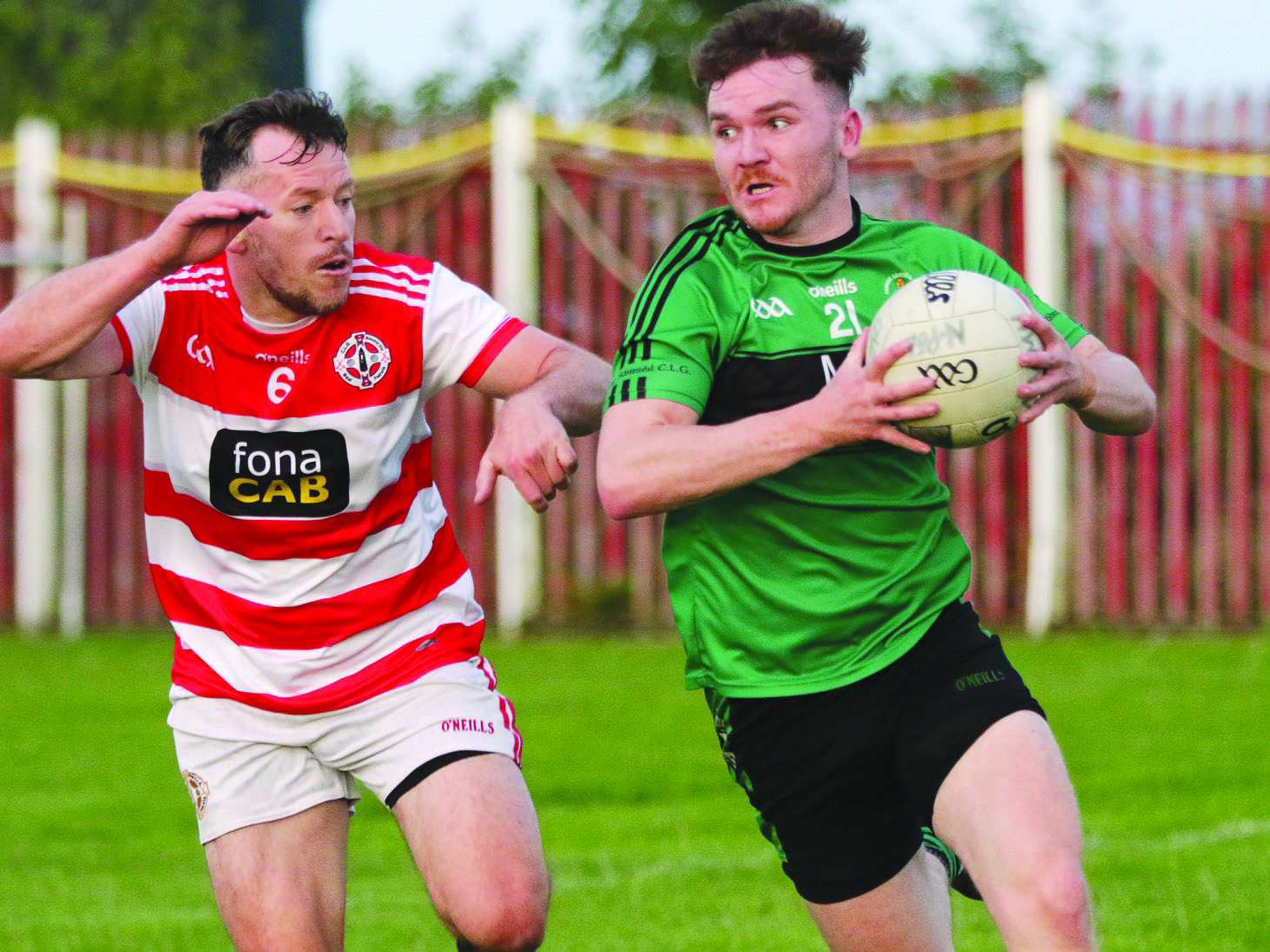 St Paul's and Sarsfield's are still in the hunt to secure the top two spots in Group Two of the IFC