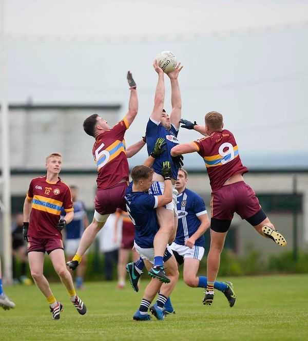 Sean Burke wins possession for St Gall's