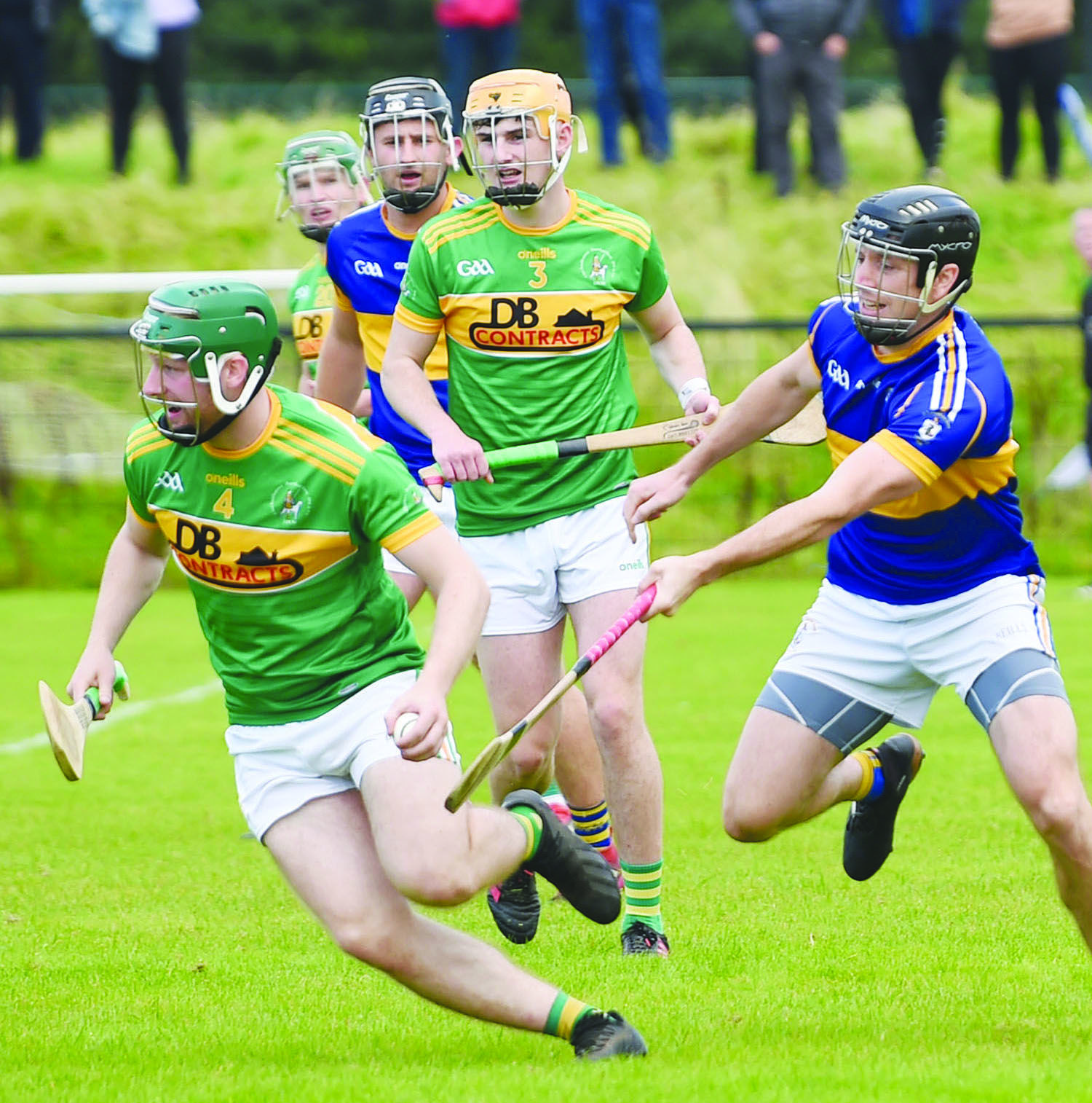 Dunloy squeaked past Rossa in last weekend's semi-final