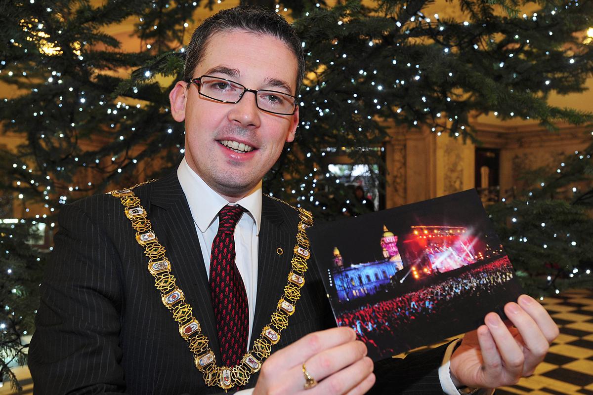 Belfast mayor message