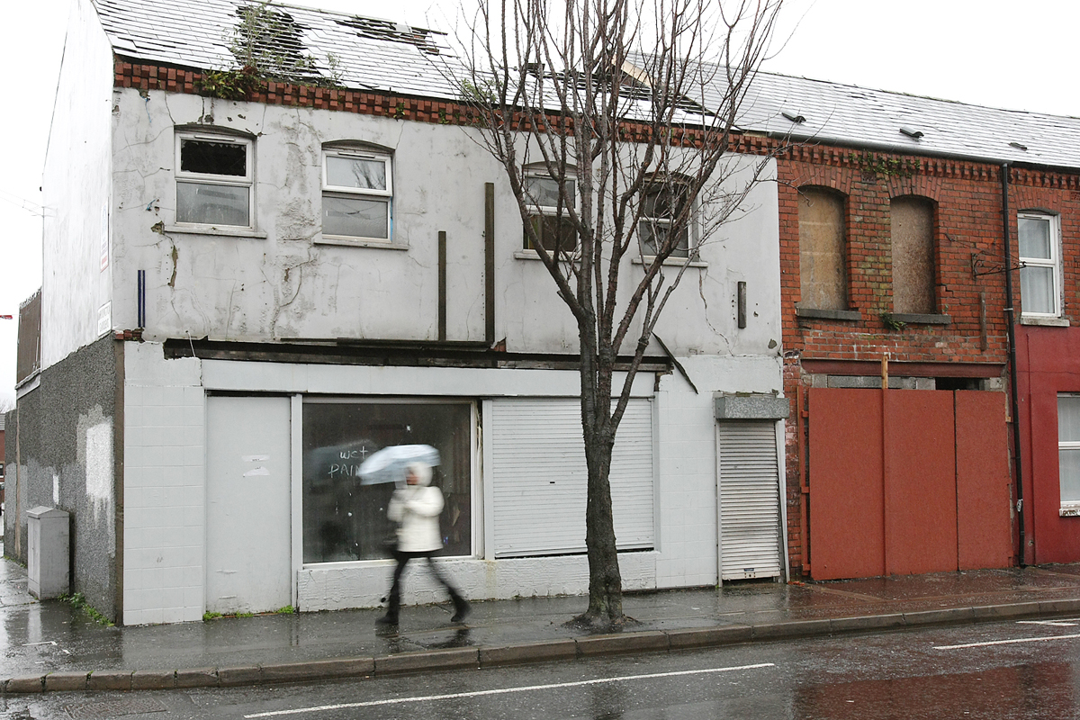 Derelict building donegall road 131mj12