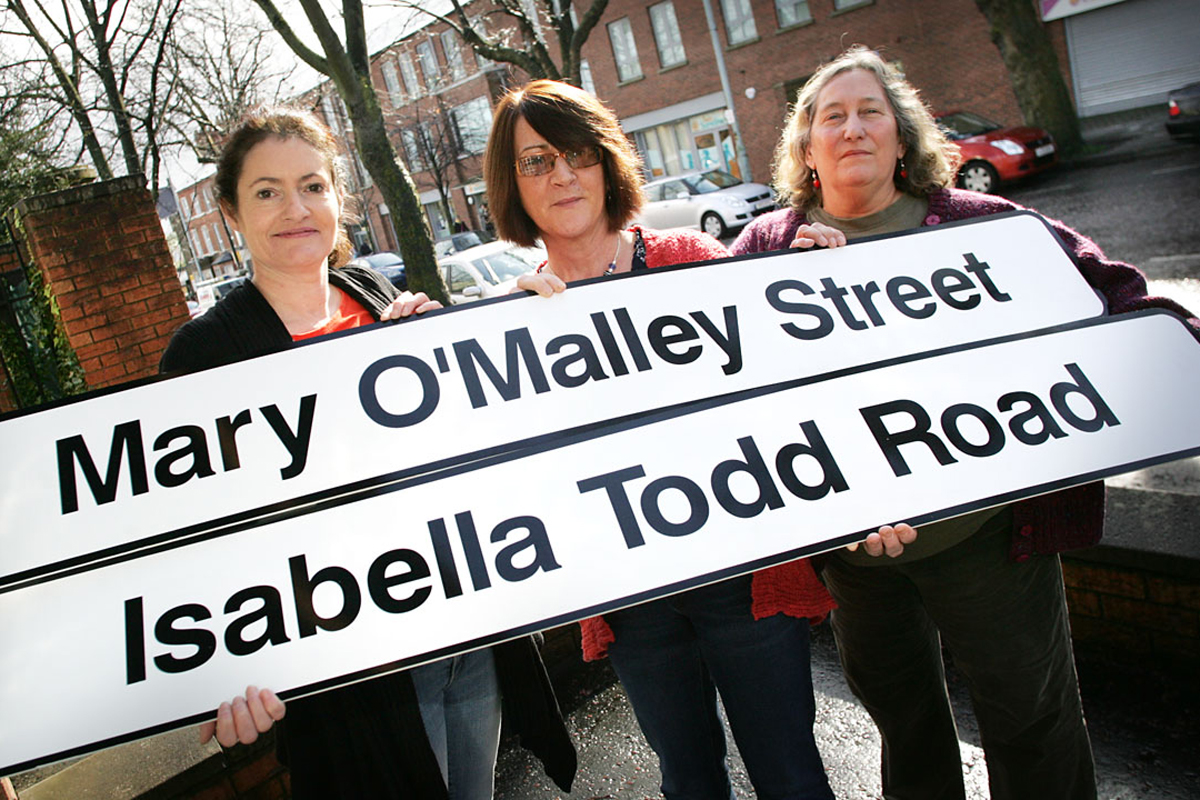 Womens day street names south