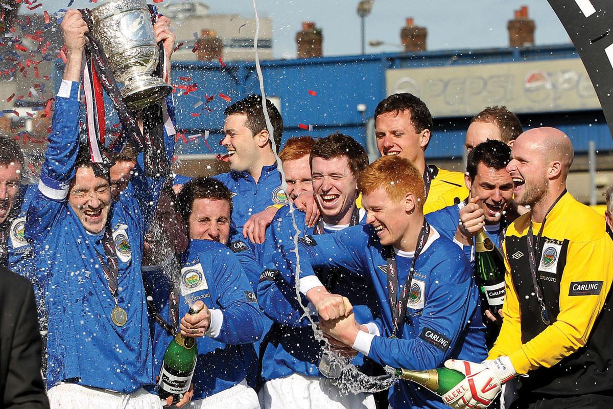Linfield league winners