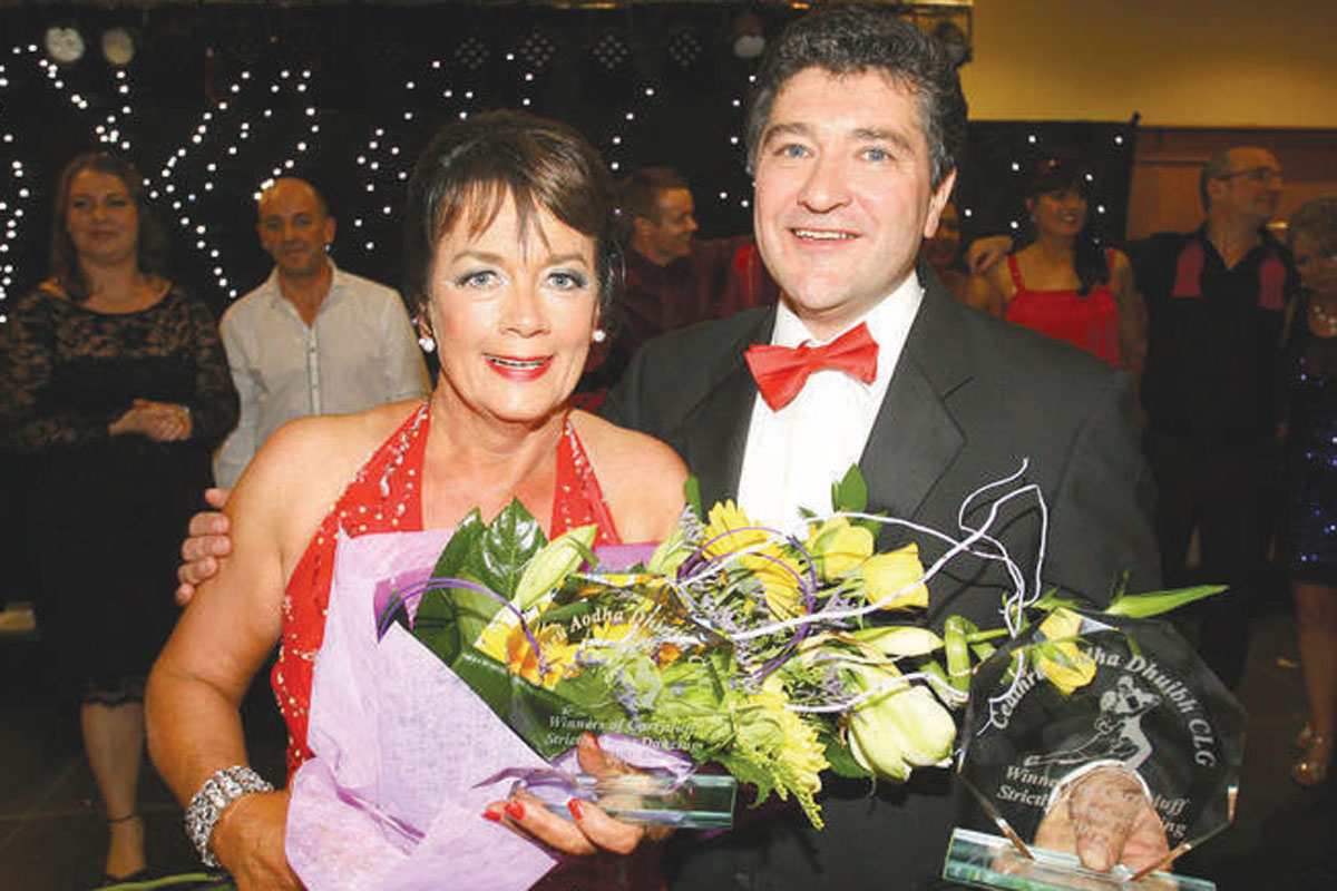 Winners of carryduff gacs strictly come dancing 2012 eugene mcnicholl and mary early