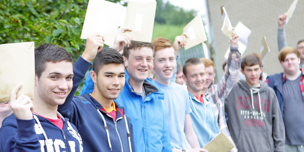 Corpus Christi boys are delighted with their results