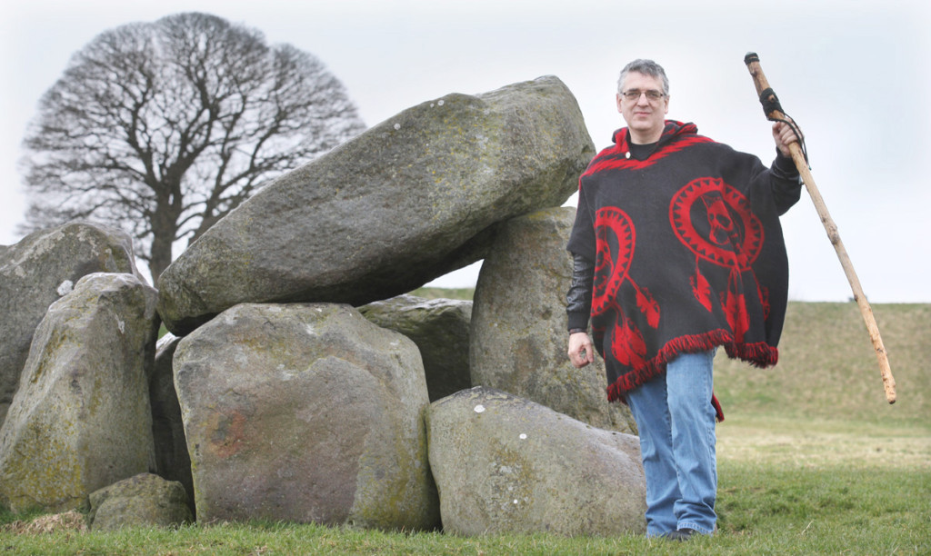 Patrick Carberry, Northern Ireland's first officially recognised pagan priest, says he hopes his religion will be accepted by society as others are