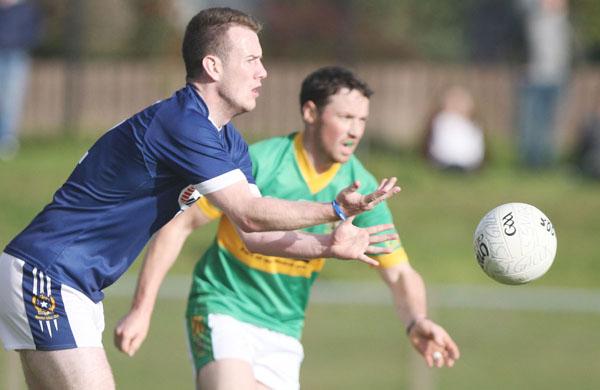 Ruairi wilson scored the st galls goal to seal their win