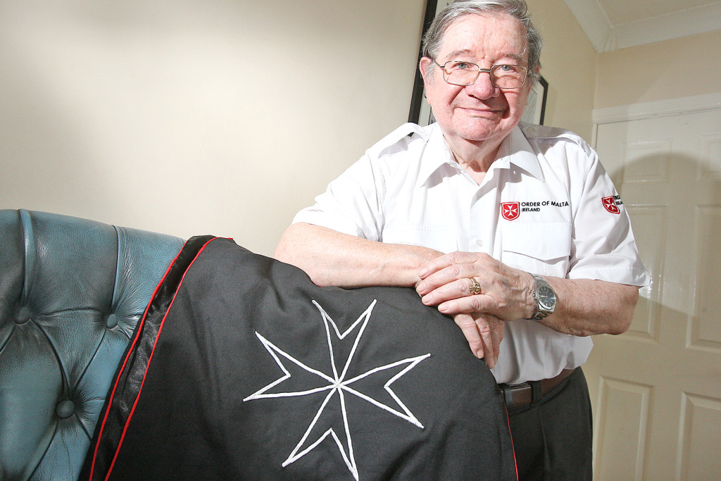 James Allison of the Order of Malta Ambulance Corps is working to rebuild the organisation which was present on the streets through the darkest days of the conflict