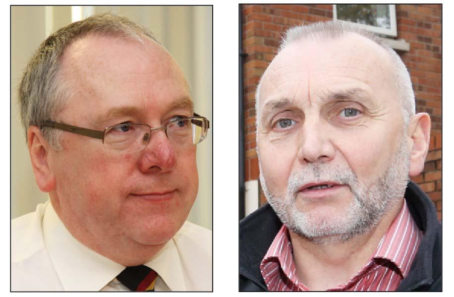 Mervyn Gibson and Seán Murray