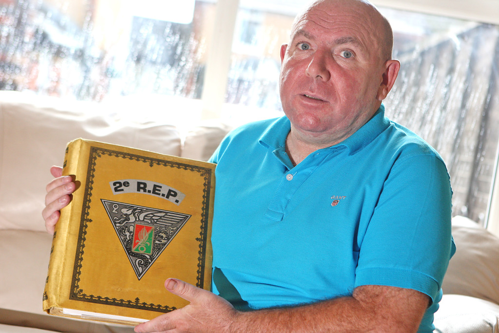 Seamus Sullivan wants to find out the truth about the killing of his brother Patrick and is offering a reward of £10,000. Seamus is holding memorabilia from Patrick's time in the French Foreign Legion