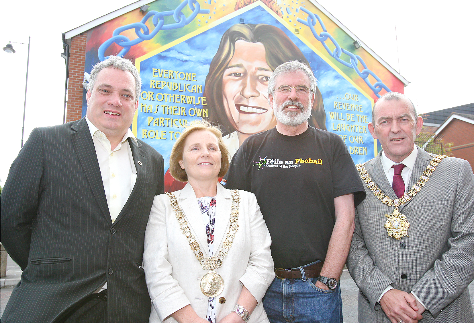 Gerry adams dublin belfast mayors 248mj15
