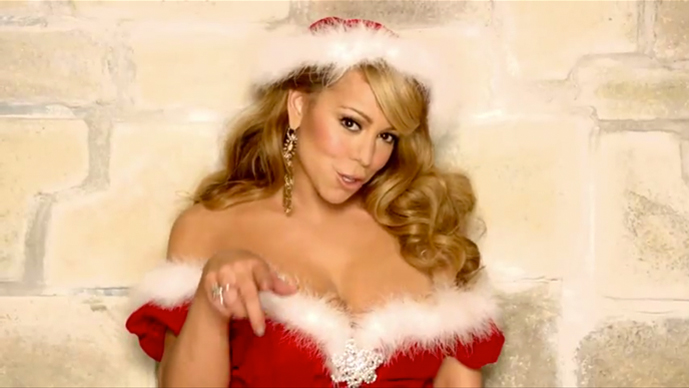 Mariah Carey comes in at No.4 on the supermarket Christmas list of shame