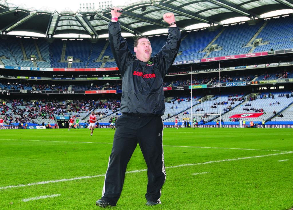 Former Loughgiel Shamrocks manager PJ O'Mullan was ratified as the new Antrim Senior hurling manager last week ©INPHO/Lorraine O'Sullivan