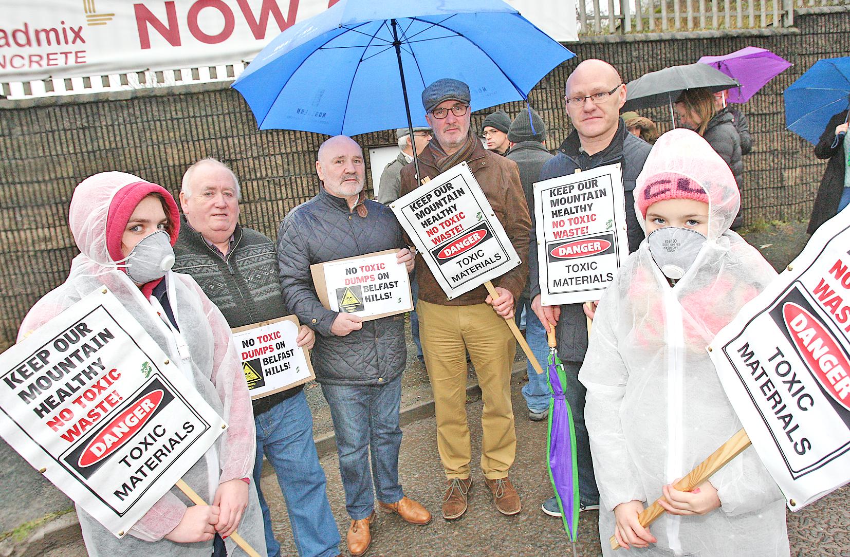 Asbestos quarry protest 72711mj15
