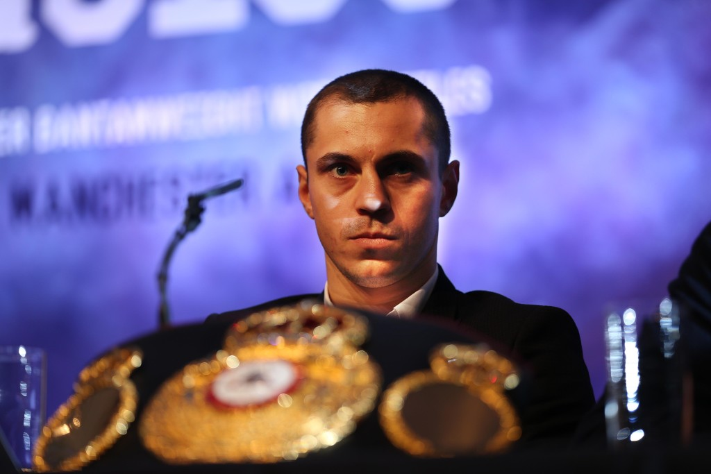 Scott Quigg is expecting an incredible atmosphere on February 27  Mandatory Credit-Brian Little /Presseye/Cyclone Promotions