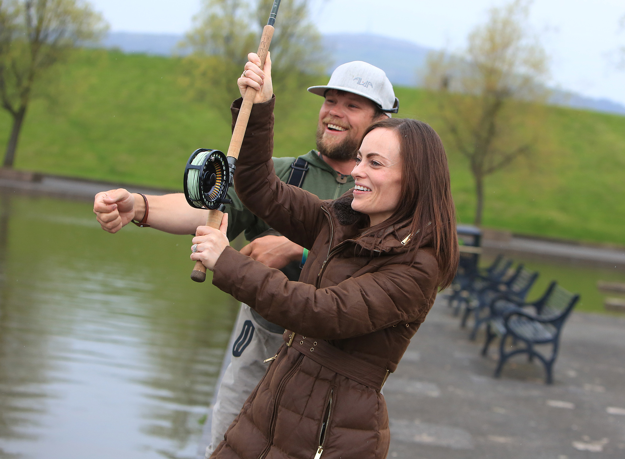 Waterworks spey casting competition 010705jc16