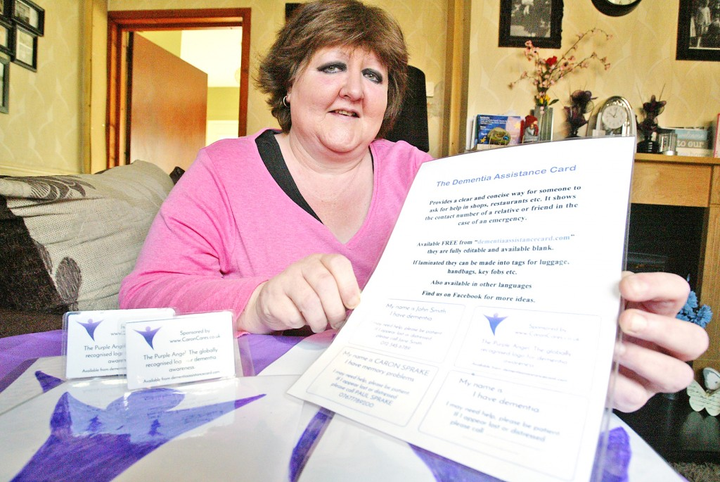 Anne Donnelly is doing her utmost to increased awareness of dementia