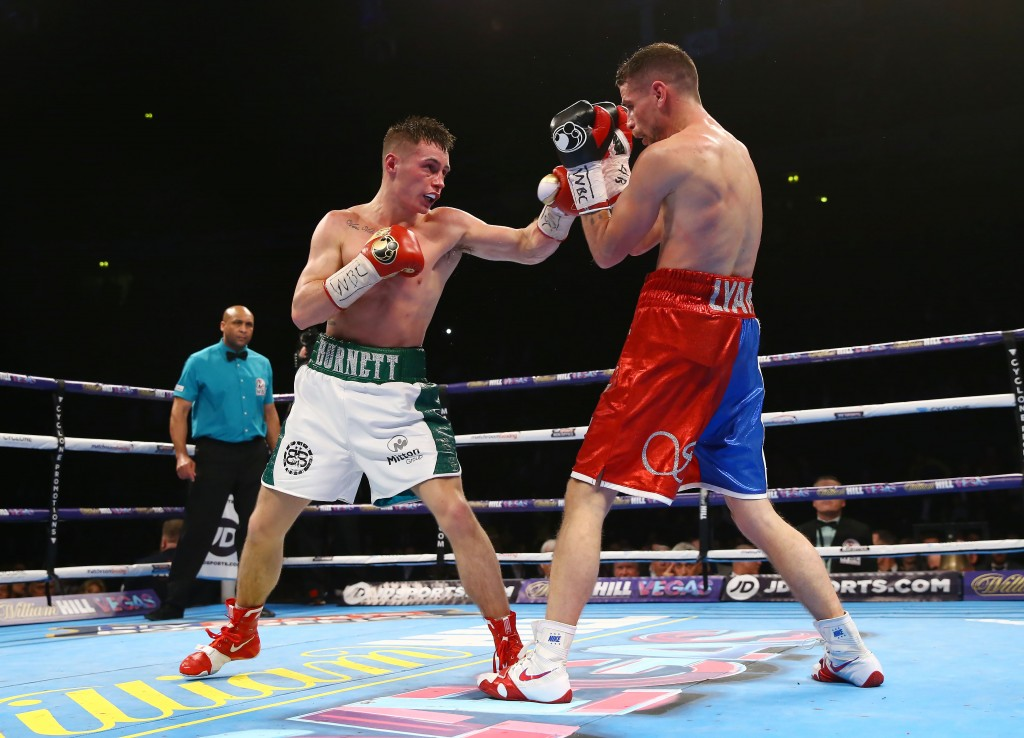 Ryan Burnett, pictured in action against Anthony Settoul from France back in February, insisted he won't be taking the challenge of Cesar Ramirez lightly ahead of his WBC International bantamweight title defence against the Mexican in Leeds on Saturday night