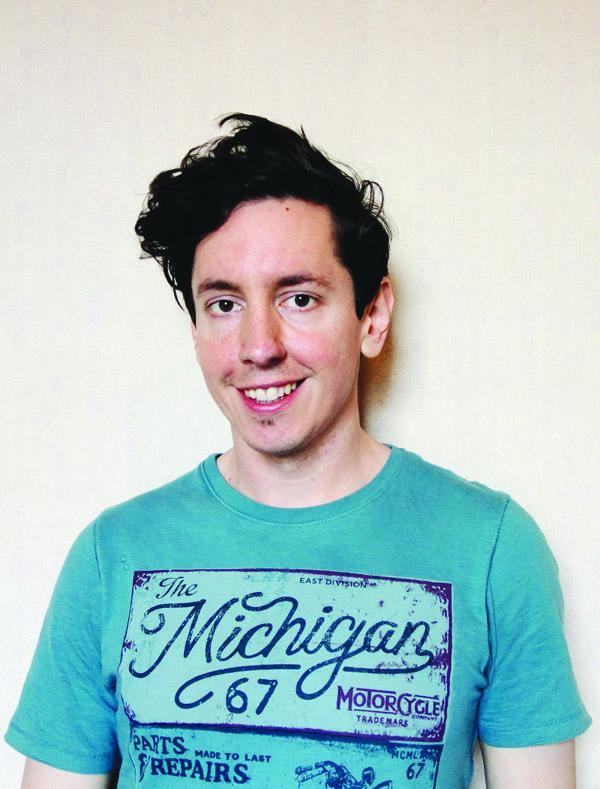 Ciaran Larkin has left North Belfast for Rhode Island to pursue his dreams at the Inventors Workshop