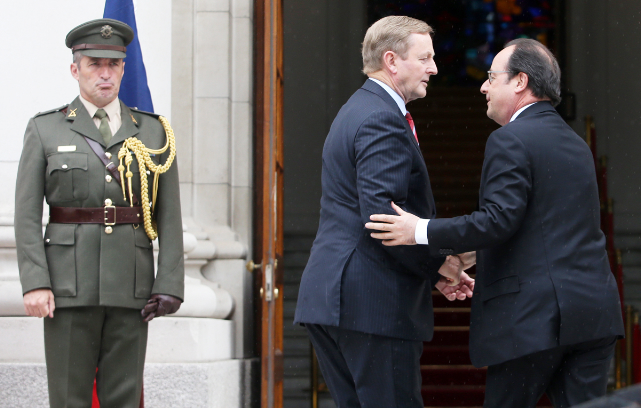 NON-STOP DIPLOMACY: Taoiseach Enda Kennedy has been busy since the Brexit vote, including meeting with President of France Francois Hollande in Dublin