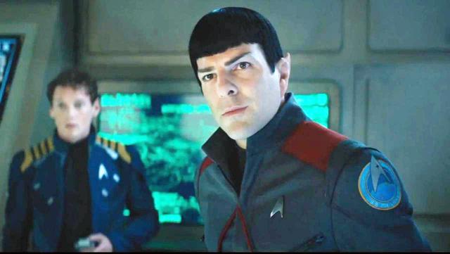 IN FINE FORM: Zachary Quinto as Spock in StarTrek: Beyond