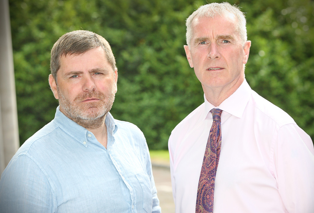 POINTS OF VIEW:Lagmore residents Mark Thompson and Jim Clinton