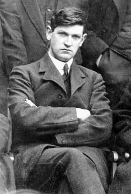 INSIGHTFUL: Kevin O'Shiel was a friend of Michael Collins, above