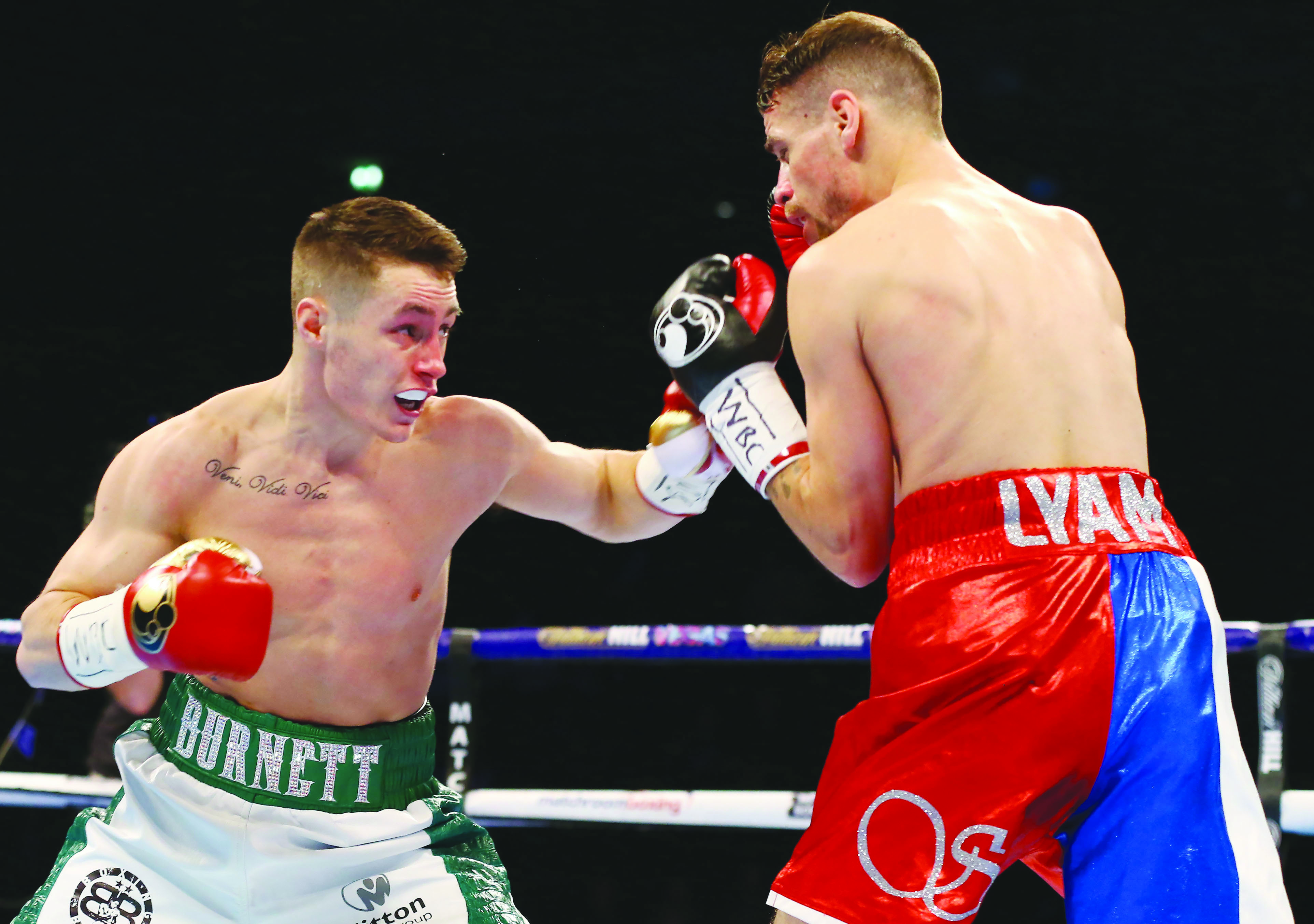 Ryan Burnett believes home advantage will ensure Ryan Farrag will show more ambition than previous opponents including Anthony Settoul (pictured) who he defeated at the Manchester Arena back in February