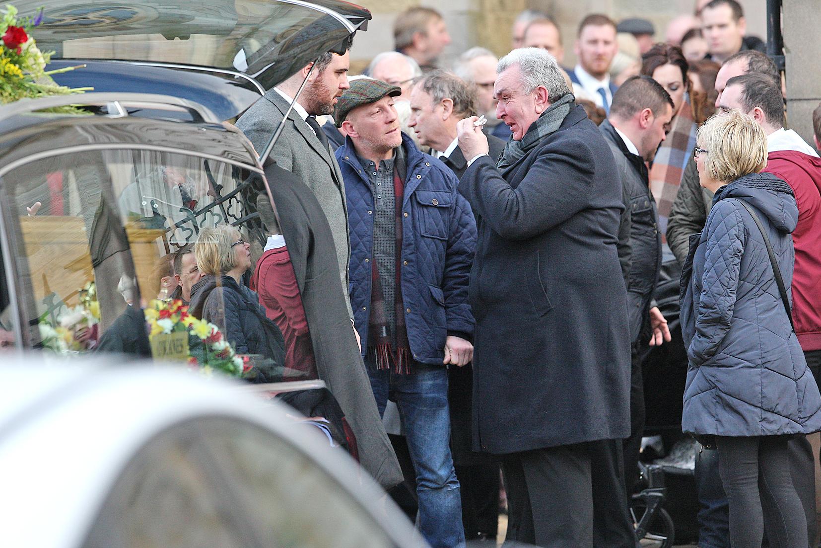 James hughes funeral 41411mj16