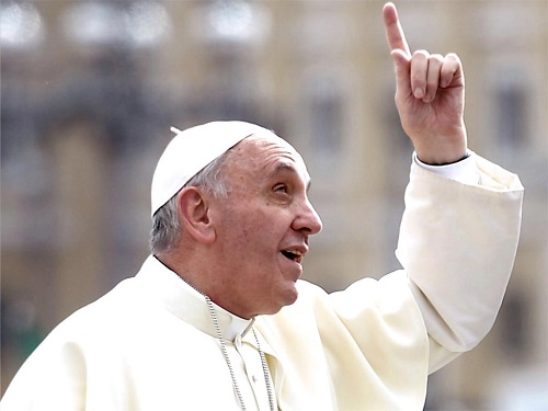 NOT EVERYONE'S HAPPY: Pope Francis is coming to Ireland
