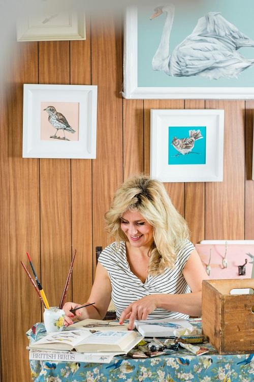ARTIST:Eimear Maguire at work