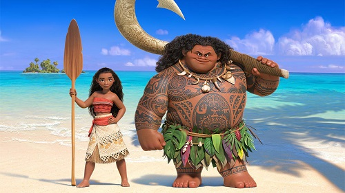 APPEALING: Moana sets out on a journey to reunite a long lost gemstone to its rightful owner