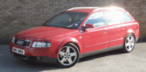 Detectives want to trace the movements of a red Audi car