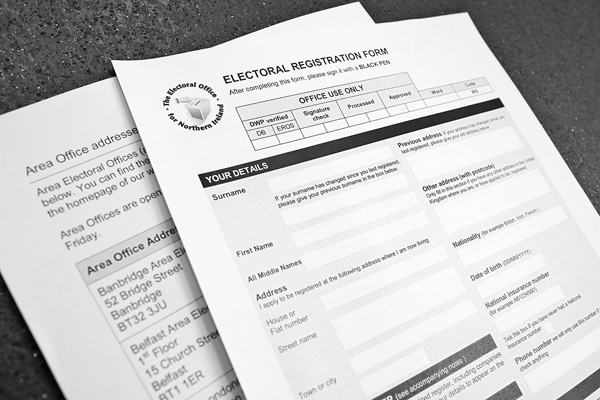People are being urged to register for March's poll