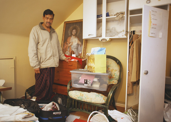 VIOLATED: Mathew Nampudakam returned home to find his Elmfield property ransacked, with treasured jewellery stolen by the burglars