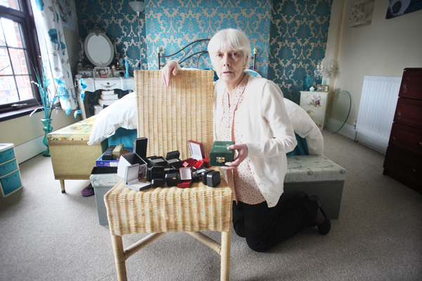 VICTIM: Anne Bradley's home on the Limestone Road was targeted twice within a week