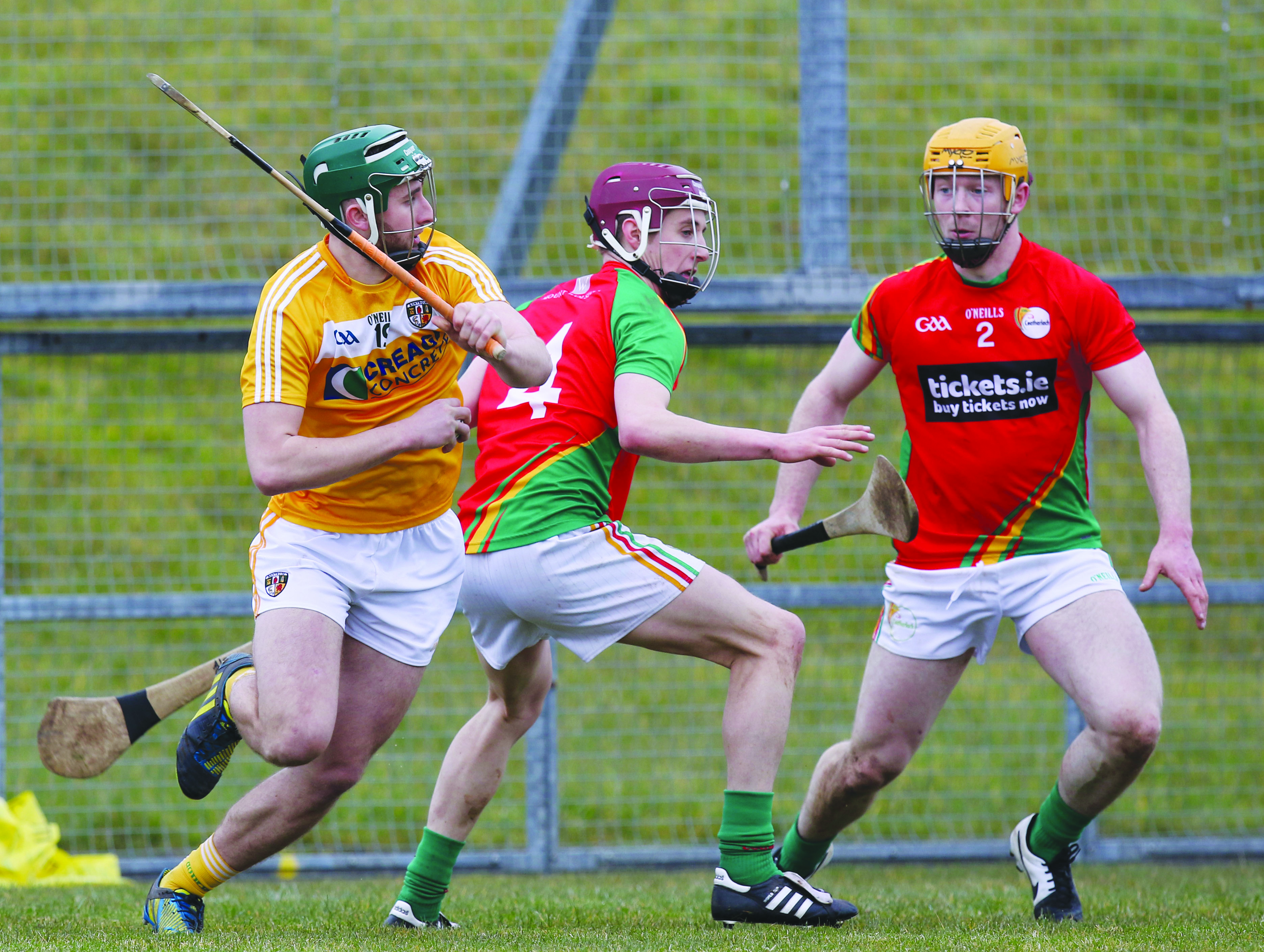 Carlow defeated Antrim in Ballycastle last year
